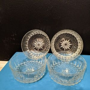 Arcorac France and USA crystal bowls